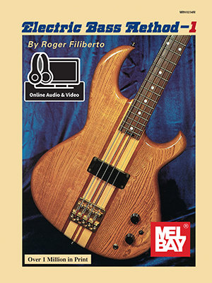 Mel Bay :  Electric Bass Method Volume 1 (Book + Online Audio/Video)