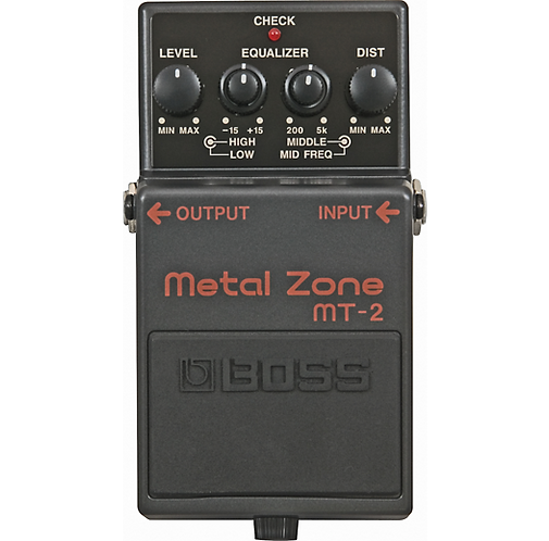 MT-2 Metal Zone - BOSS