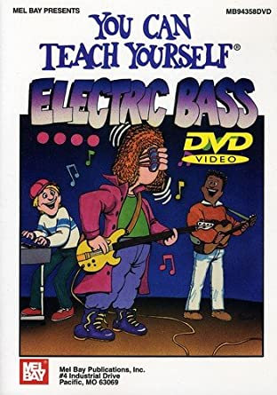 Mel Bay : You Can Teach Yourself Electric Bass DVD