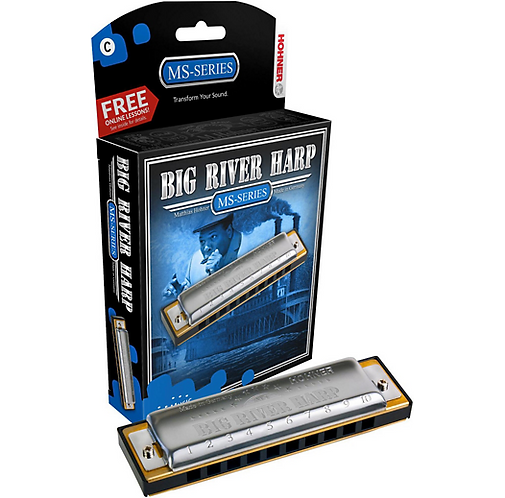 Hohner : 590 Big River MS-Series Harmonica  A