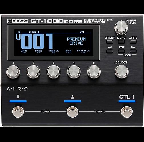 GT-1000CORE Multi-Effects Processor - BOSS