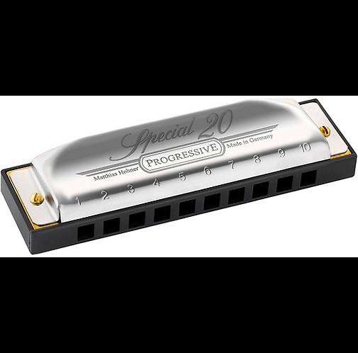 Hohner : Progressive Series 560 Special 20 Harmonica  F