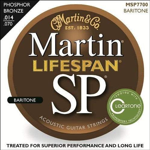 MSP7700 SP Lifespan 92/8 Phosphor Bronze - Baritone Strings : Martin