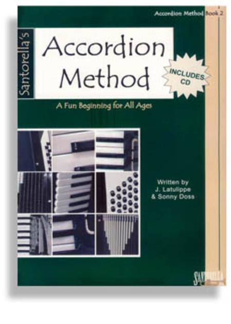 Santorella's Accordion Method Book 2 (Book + CD)