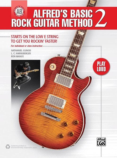 Basic Rock Guitar Method 2 : Alfred