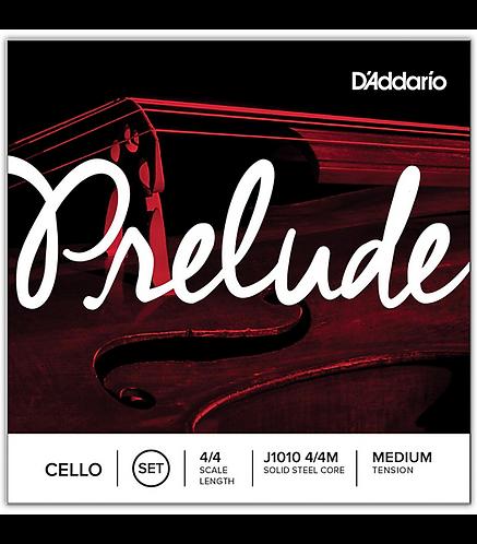 Prelude Cello String Set  4/4 Size - D'addario