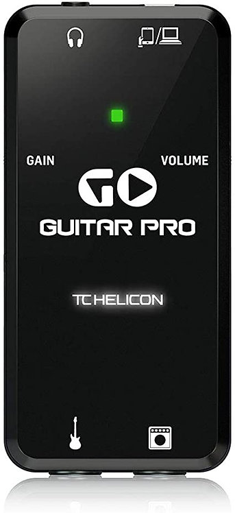 GO GUITAR PRO High-Def iOS Guitar Interface - TC Helicon