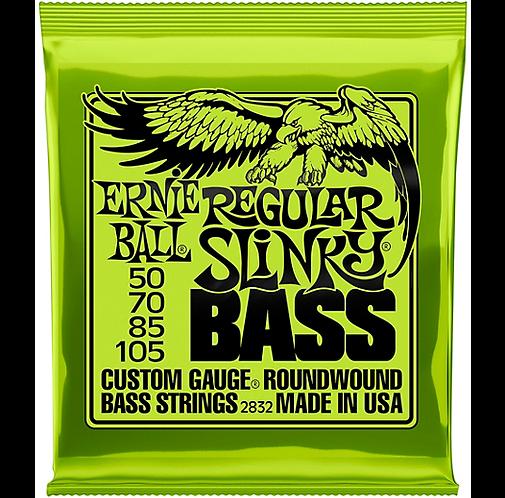 Regular Slinky Roundwound Bass Strings : Ernie Ball