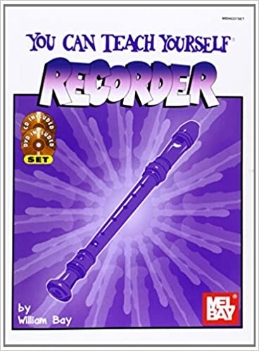 Mel Bay :  You Can Teach Yourself Recorder (Book + CD + DVD)