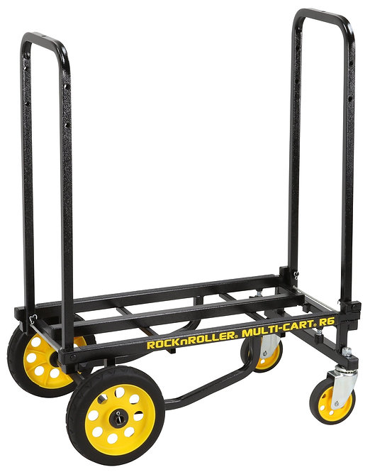Rock N Roller : R6RT Multi-Cart 8-in-1 Equipment Transporter Cart