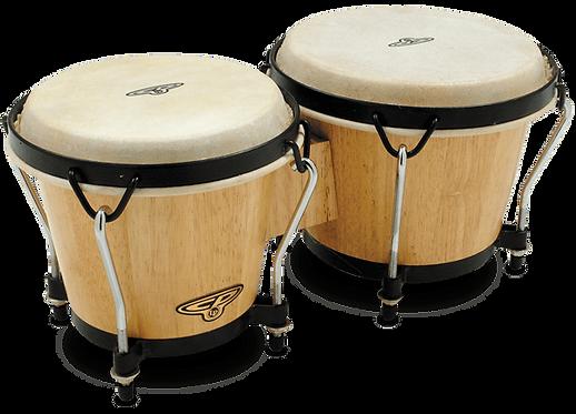 Traditional Wood Bongos - CP