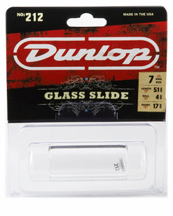 Dunlop : Large Heavy Glass Slide