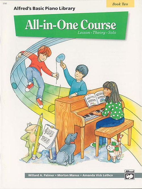 Alfred : Basic All-in-One Course, Book 2