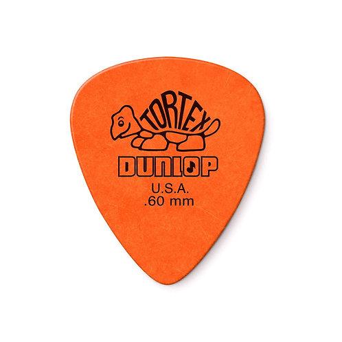 Dunlop : Orange Tortex Pick .60mm