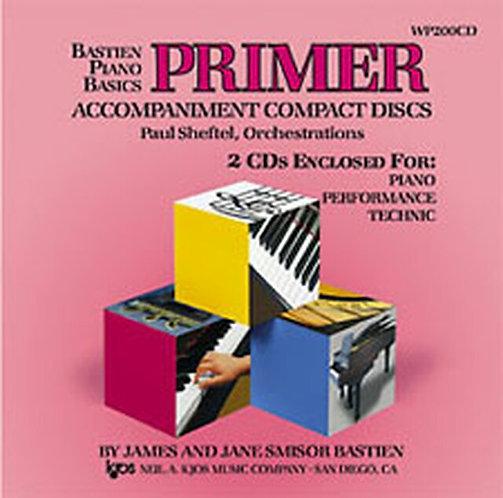 Bastien Piano Basics : Primer Accompaniment CD's