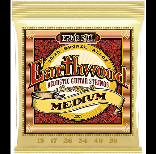 Earthwood 80/20 Bronze Medium Light : Ernie Ball