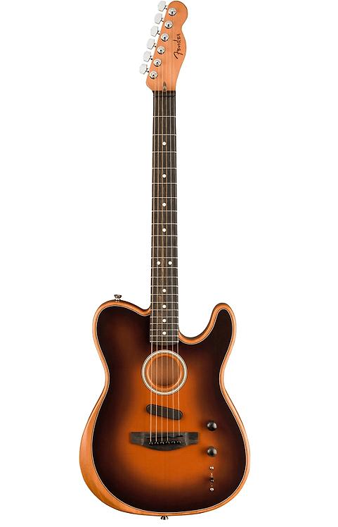 Fender : Used Acoustasonic Telecaster - Sunburst