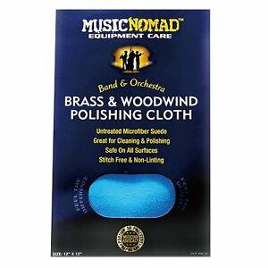 Brass & Woodwind Microfiber Polishing Cloth : MusicNomad