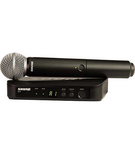 BLX24/SM58 Wireless Vocal System with SM58 : Shure