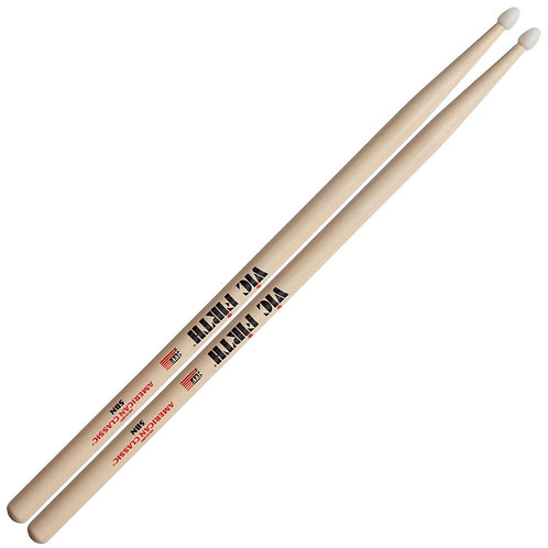 5BN American Classic Hickory Drumsticks - VIC FIRTH