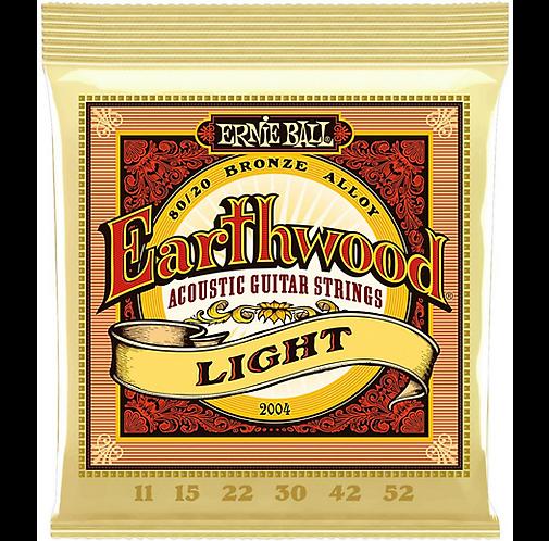 Ernie Ball : Earthwood 80/20 Bronze Light