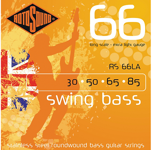 Extra Light Long Scale Bass Strings : Rotosound