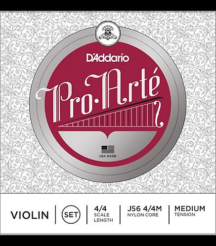 Pro-Arte Series Violin String Set  4/4 Size - D'addario