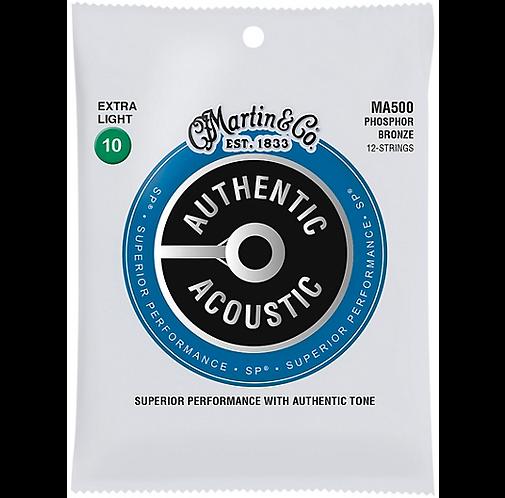 Martin : MA500 12-String Set
