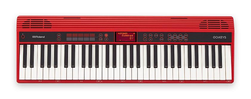 GO:KEYS 61 Key Synthesizer - Red : Roland
