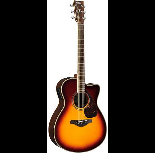 FSX830C Acoustic-Electric Guitar - Brown Sunburst - Yamaha