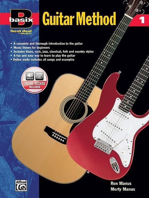 Basix®: Guitar Method 1 (Book + CD) : Alfred