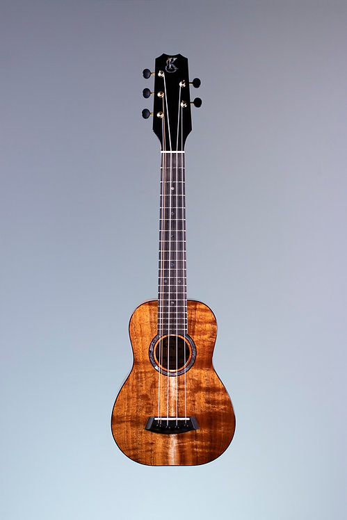 KPA-SC-5-PREM Premium Curly Hawaiian Koa 5-String Super Concert Ukulele Kanile'a