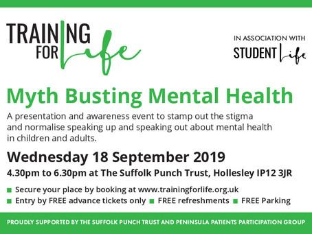 Myth Busting Mental Health Event