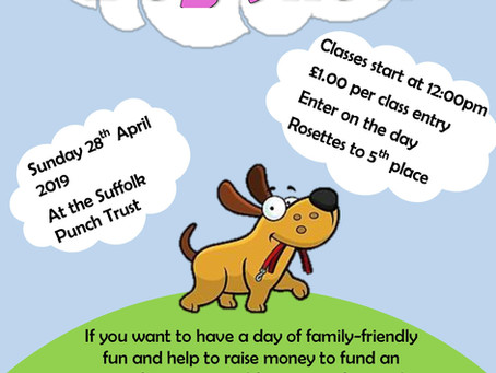 Join us on Sunday 28th April for our Spring Plant Sale and Zoe's Fundraising Dog Show