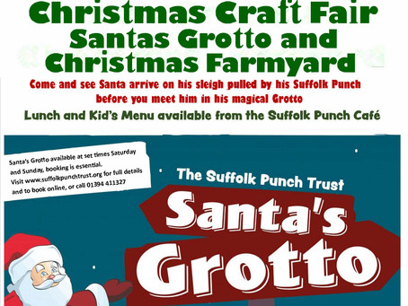 Christmas Craft Fair, Santa's Grotto and Christmas Farmyard at the Suffolk Punch Trust