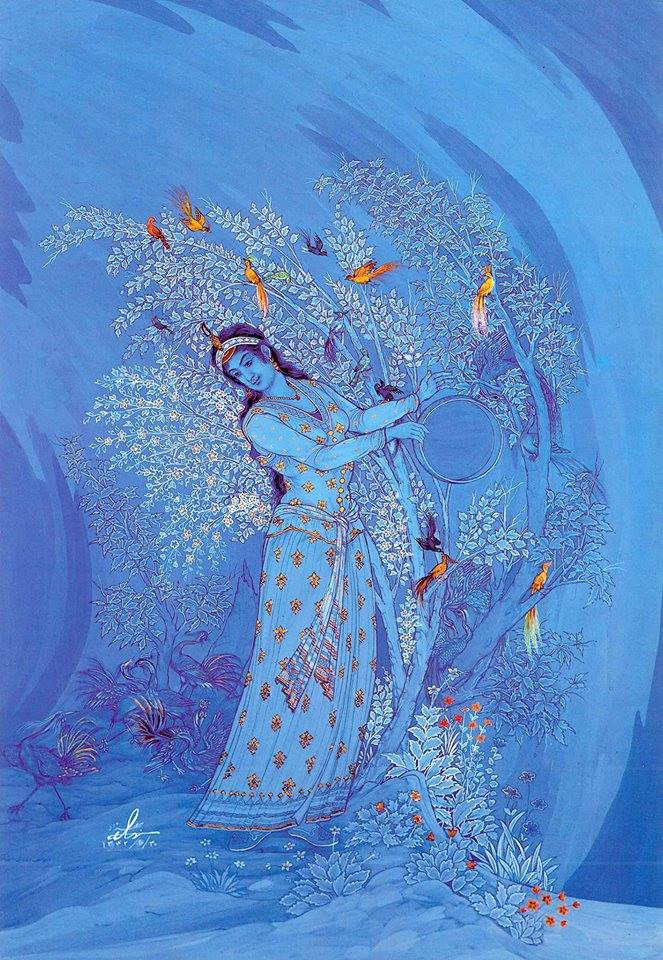ציור של האמן האיראני Hoossein Behzad