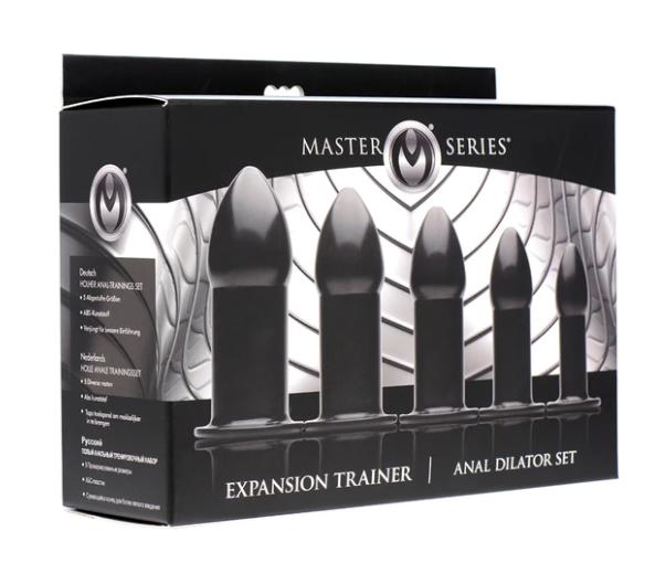 Master Series Expansion Trainer Anal Dilator Set