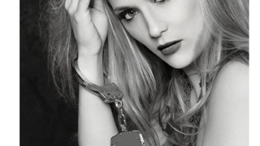Sex and Mischief Metal Handcuffs