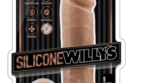 Silicone Willy's Silicone Dildo with suction Cup
