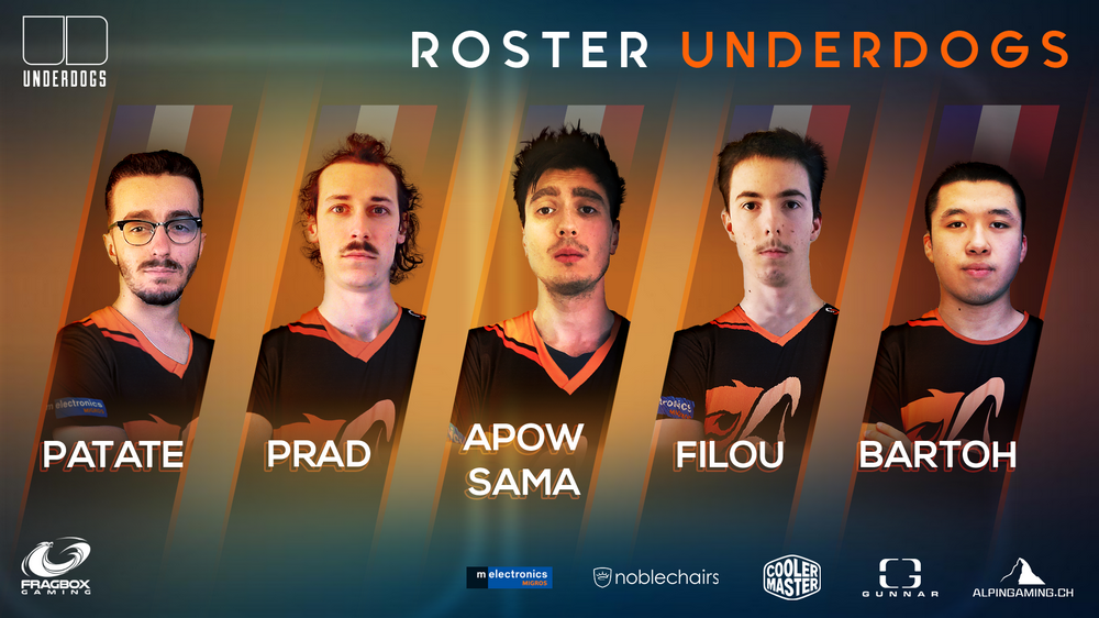 Roster Underdogs