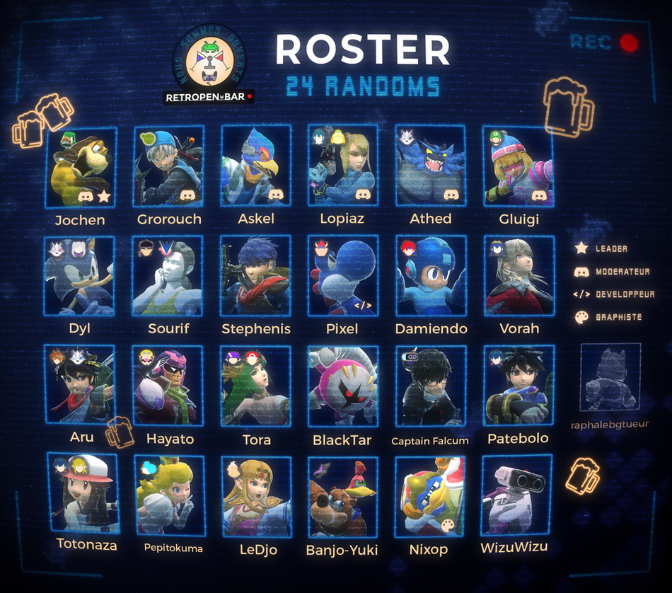 ROSTER SMASH ULTIMATE