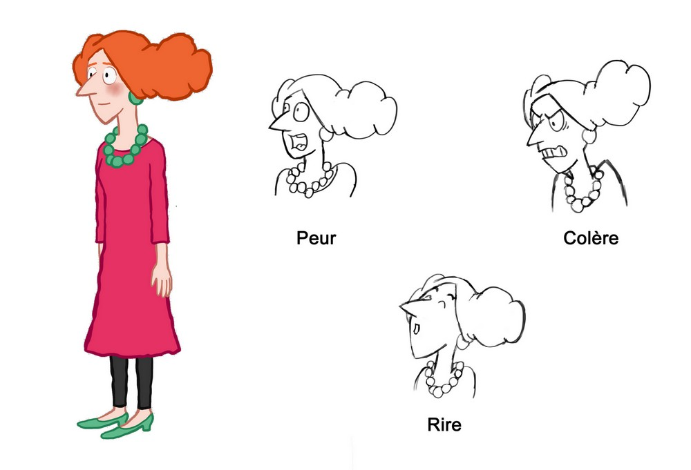 Mrs. Wood (Expressions)