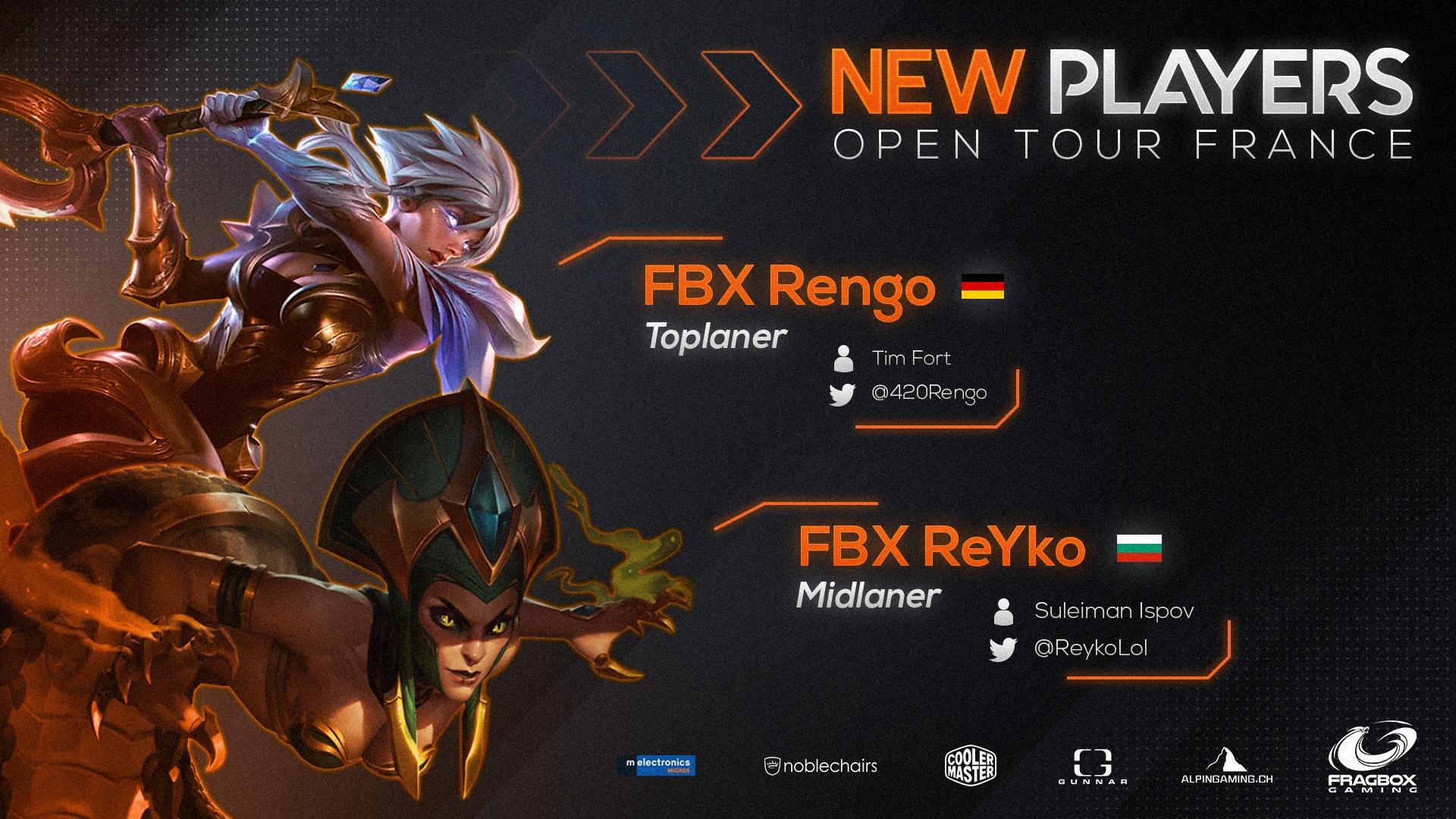Nouveaux joueurs (OTF)