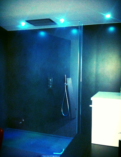 Un bagno di luce