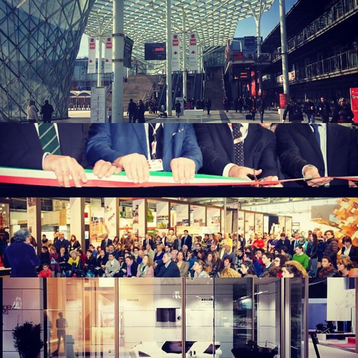 Ingresso MADE EXPO | Taglio Tricolore inaugurazione | Convegni | Esposizione