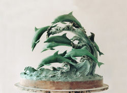 Dolphin Master Pattern wax