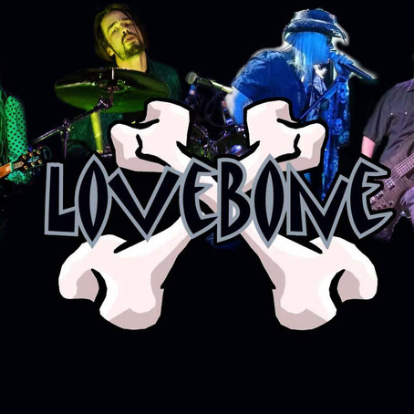 LoveBone waiting impatiently for our next concert after COVID!