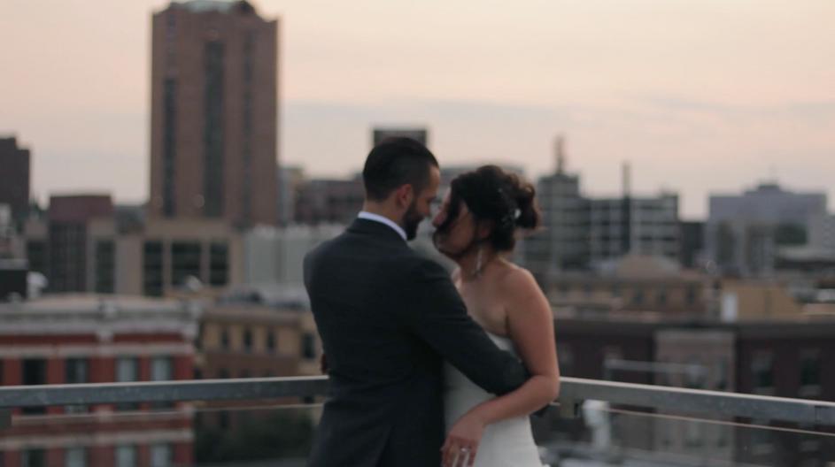 Aria Rooftop Wedding