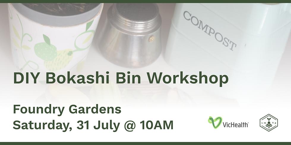 DIY Bokashi Bin Workshop