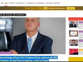 Article paru ce jour sur www.snacking.fr
